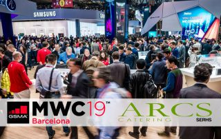 ARCS Càtering per segon any consecutiu al Mobile World Congress 2019
